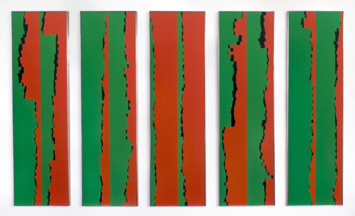 Rudolf Bonvie, Top Flop 1-5, 2003, photowork