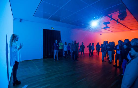 Christian Falsnaes, Performance, © Foto: David von Becker