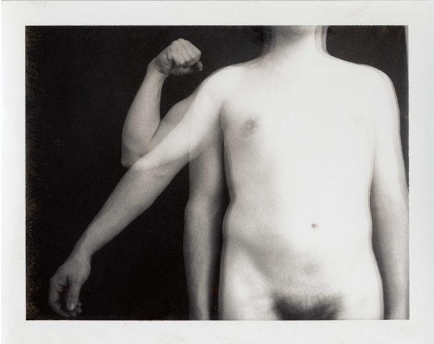 Rudolf Bonvie, Kraft 2 (strength 2), 1974, photowork 29.5 x 21 cm