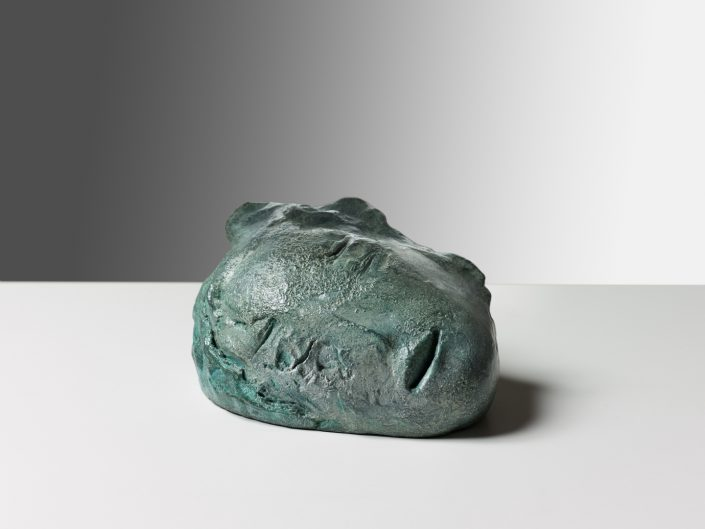 LEIKO IKEMURA | Kitsune-Mann 2012 bronze ed. 5/9 10.00 x 16.00 x 10.00 cm