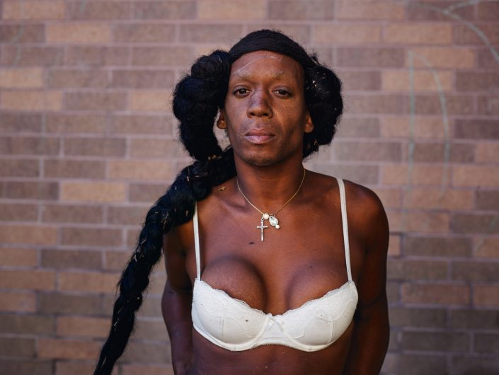 "Pieter Hugo, Untitled, San Francisco, 2014 C-Print Large: 105 cm x 139 (image), edition of 5 + 2AP Medium: 82 x 103 cm, edition of 9 + 2AP, from "" Californian Wildflowers"""