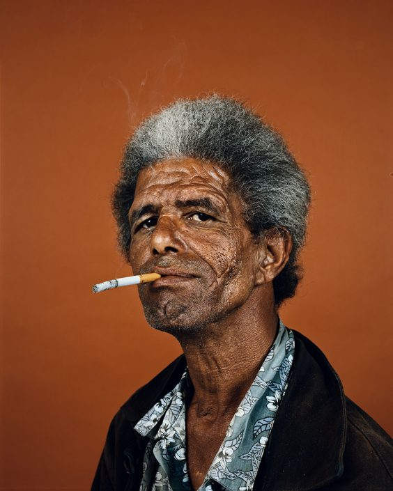 "Pieter Hugo, Shaun Oliver, Cape Town, 2011 C-Print Large: ca. 127 x 102 cm (image), edition of 5 + 2AP Medium: ca. 103 x 82 cm (image), edition of 9 + 2AP, from the series ""Kin"""