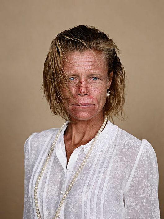 "Pieter Hugo, Daniela Beukmann, Milnerton, 2013 C-Print Large: ca. 127 x 102 cm (image), edition of 5 + 2AP Medium: ca. 103 x 82 cm (image), edition of 9 + 2AP, from the series ""Kin"""