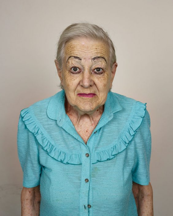 Pieter Hugo, Rina Veldsman, Monte Rosa Old Age Home, Cape Town, 2013 C-Print Large: ca. 127 x 102 cm (image), edition of 5 + 2AP Medium: ca. 103 x 82 cm (image), edition of 9 + 2AP