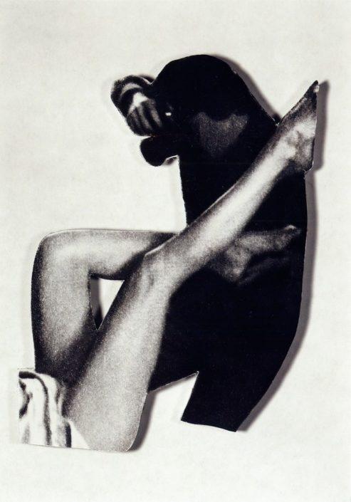 Rudolf Bonvie, Elle feuillete..., 1979 Photowork 99.5 × 87.5 cm