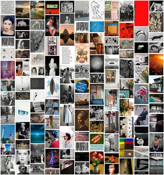 Rudolf Bonvie, Tumblrwork 4, 2013 Photowork, Dibond, framed ed. of 5 115 × 107 cm