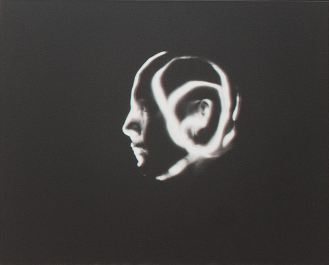 Warren Neidich, Mind Deity, from Blanqui's Cosmology (1997-2007), photography, b/w silver prints, 40,6 x 50,8 cm